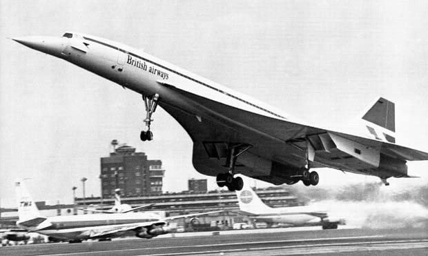 1976; first concorde