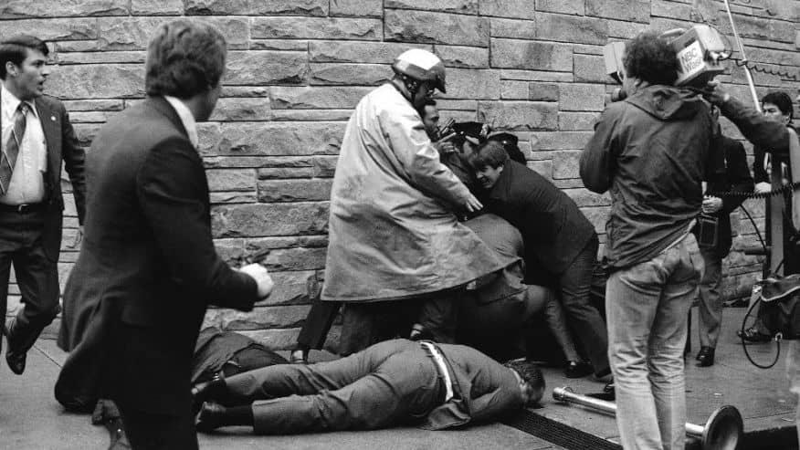 1981 REAGAN ATTEMPTED ASSASSINATION
