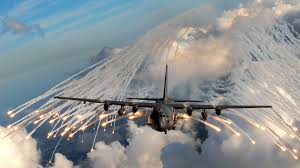 2007 AC-130 gunship over somalia
