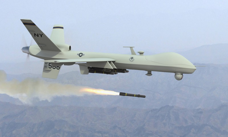 2008 drone missile