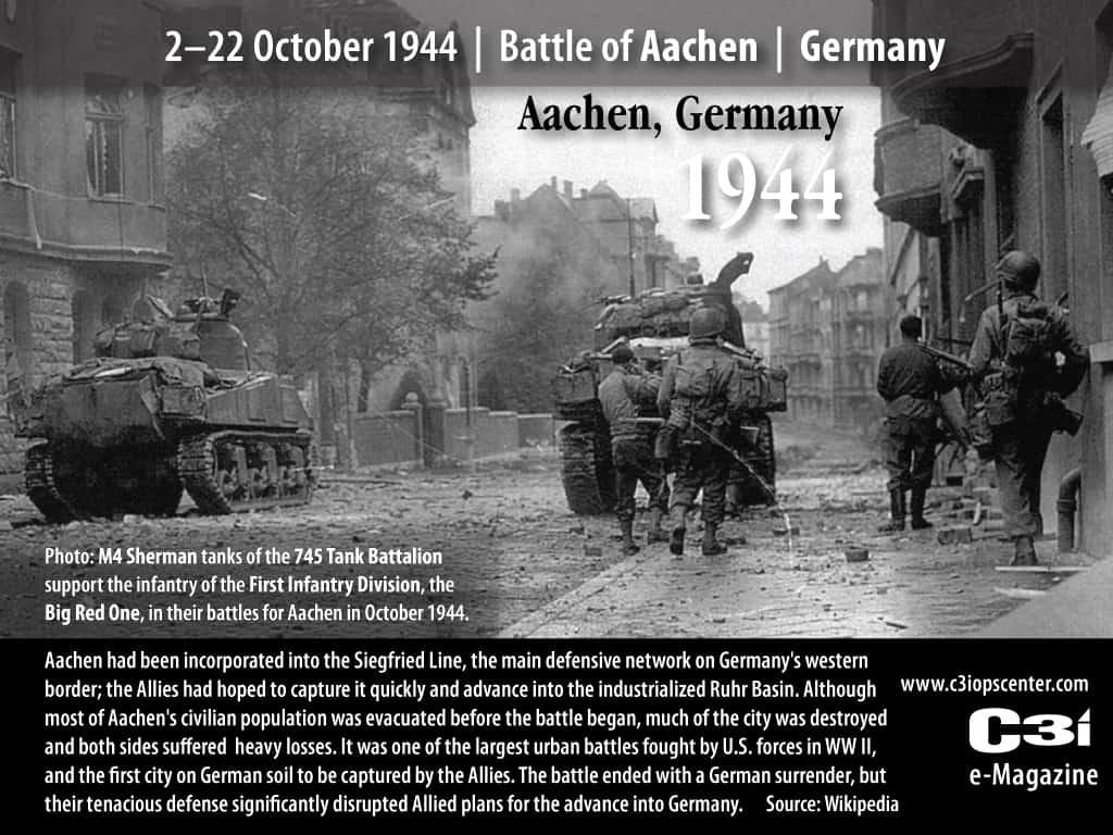 1944; battle of aachen