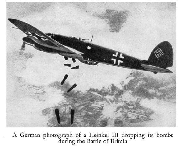 1940; BATTLE OF BRITAIN BOMBING