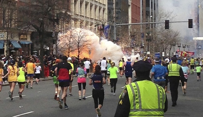 2013; BOSTON MARATHON BOMBING