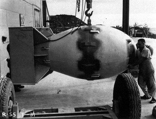 1945; FAT MAN a-BOMB