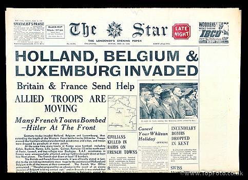 1940; INVASION