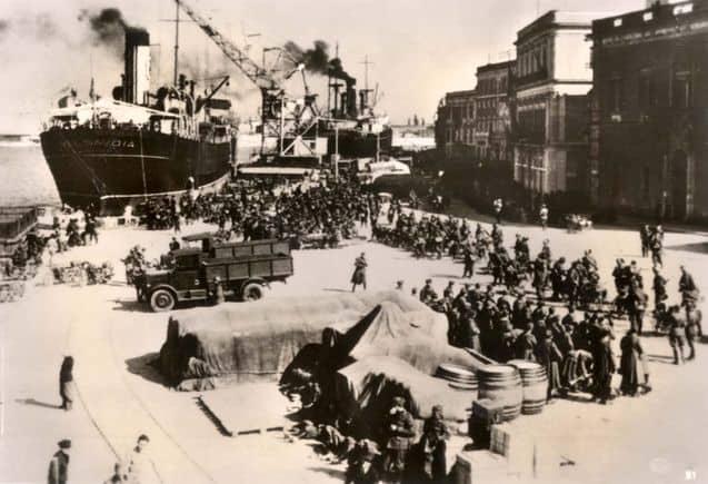 1939; ITALY INVADES ALBANIA