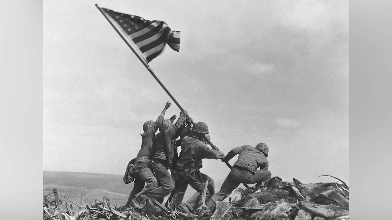 1945; IWO JIMA FLAG