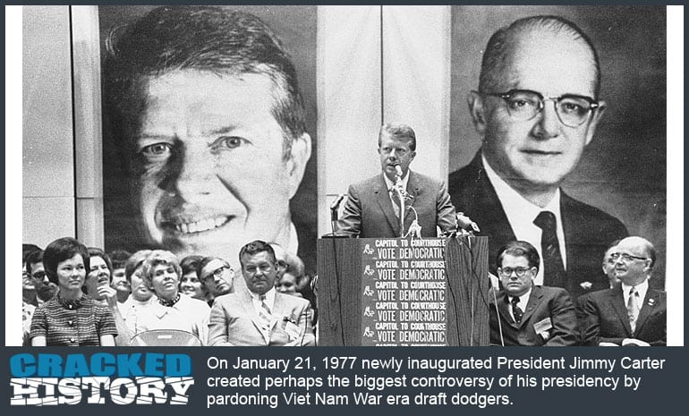 1977-Jimmy-Carter-Pardons-Draft-Dodgers
