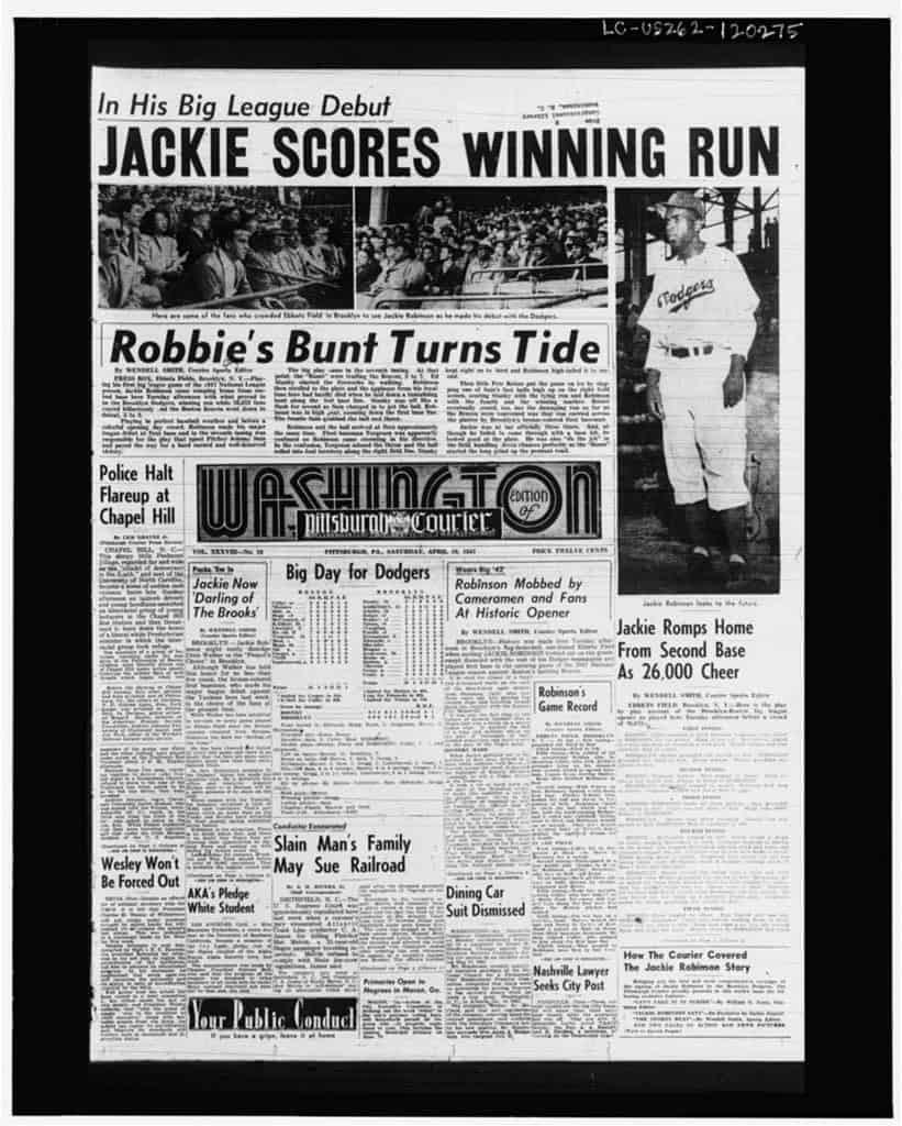 1947; Robinson1stGame