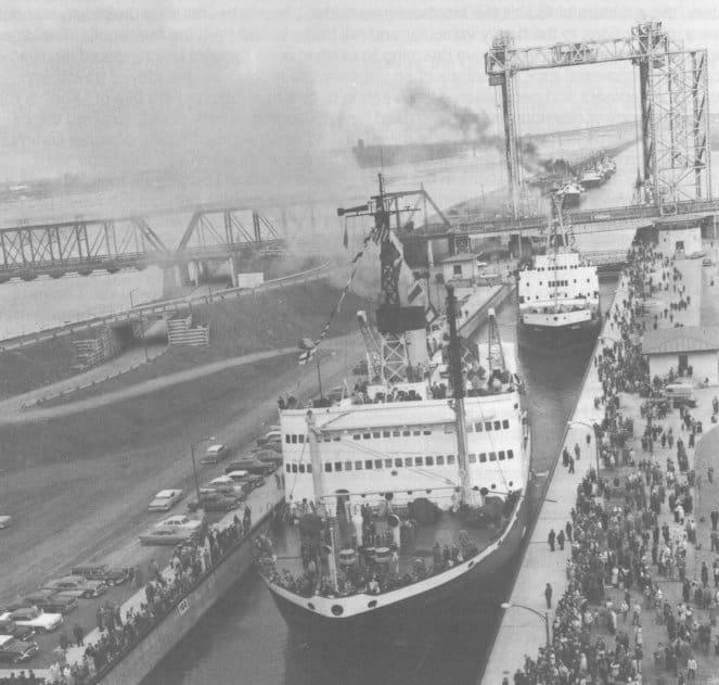 1959; ST LAWRENCE SEAWAY