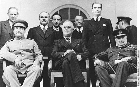 1943; TEHRAN CONFERENCE