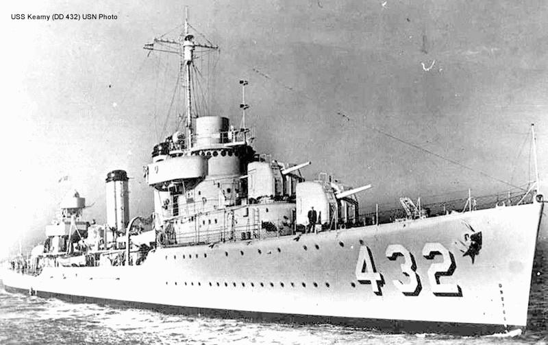 1941; USS KEARNEY