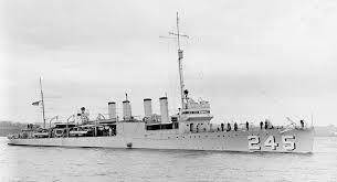 1941; USS REUBAN JAMES