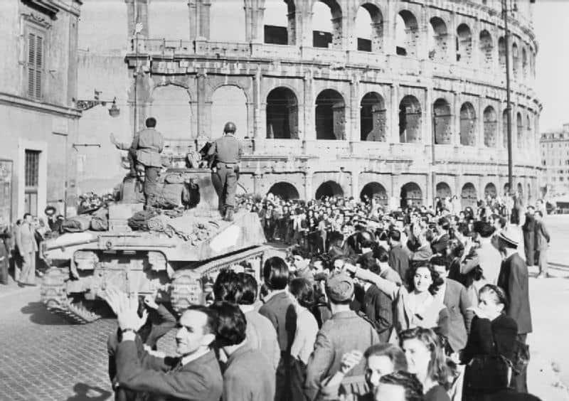 1944; liberation of rome