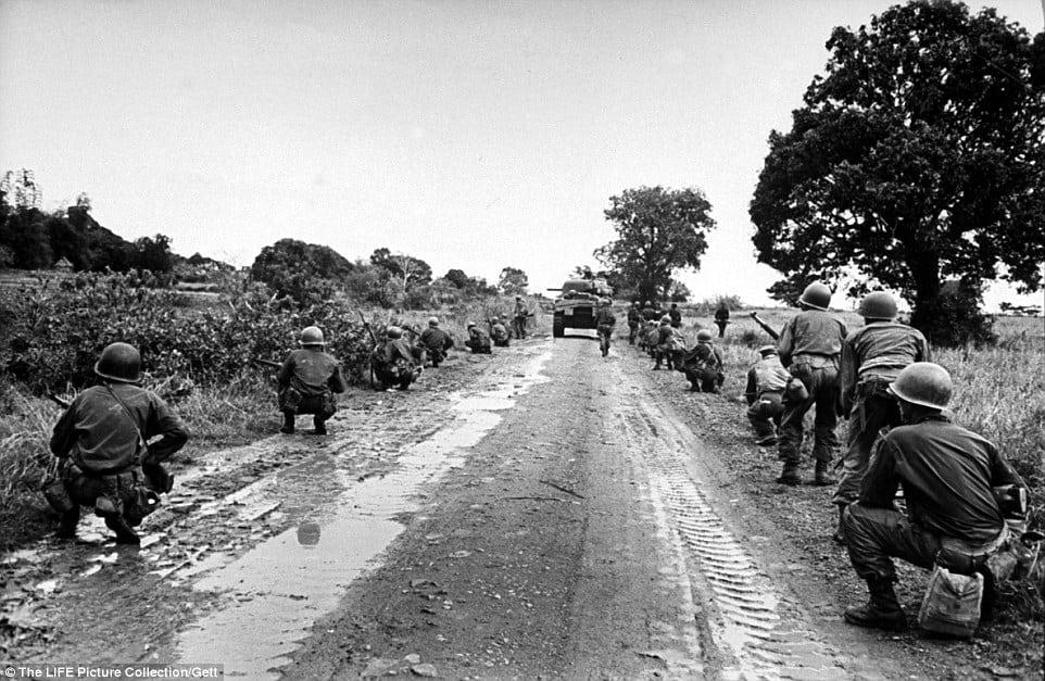 1945; battle of manila