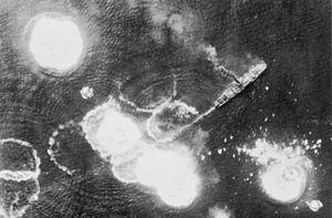 1943; bismarck sea ship
