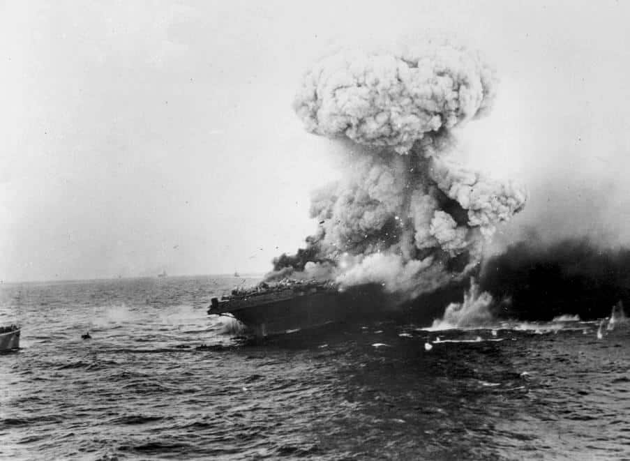 1942; battle of coral sea