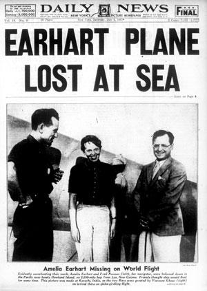 1937; daily-news-earhart