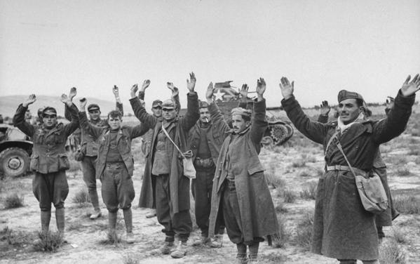 1943; italian troops surrender