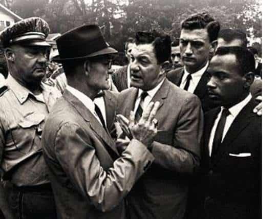 1962; james meredithblocade-at-ole-miss
