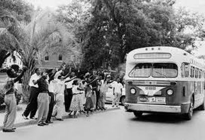 1955; montgomery bus boycott