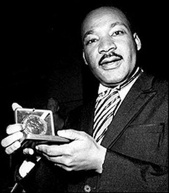 1964; MLK nobelpeaceprize