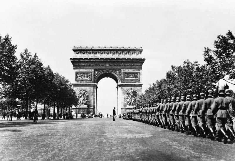 1940; paris invasion