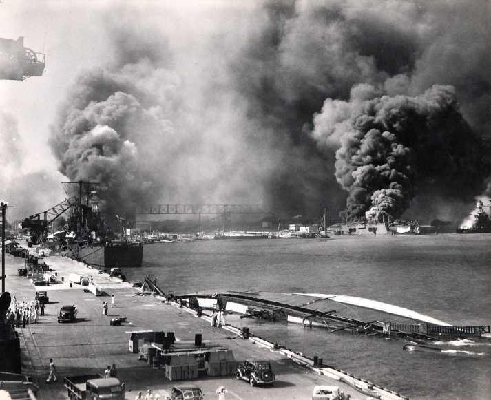 1941; pearl harbor attack