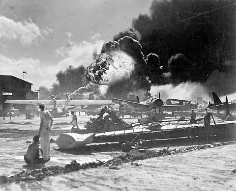 1941; pearl harbor attacked