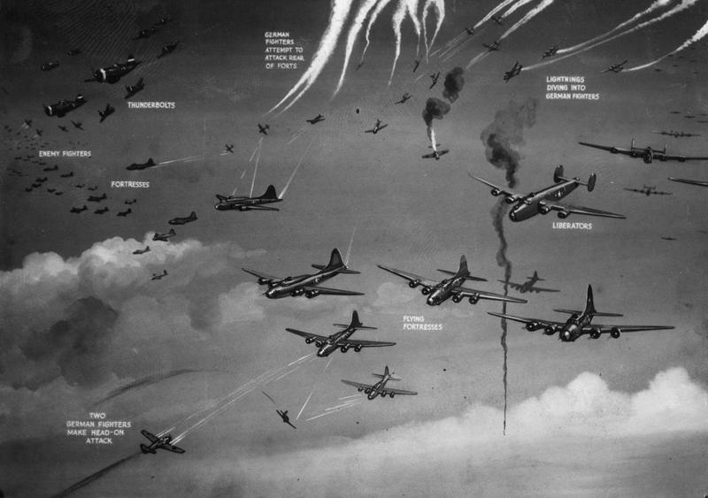 1943; wilhelmshaven raid