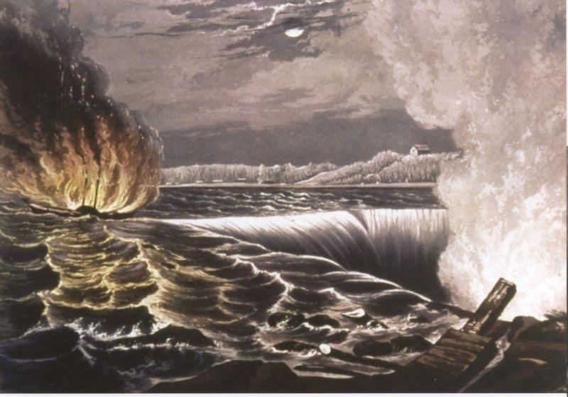 1838; Destruction of Caroline