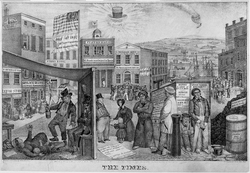 1837; Panic of 1837