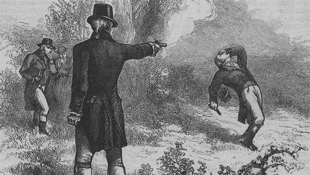 1804; BURR HAMILTON duel