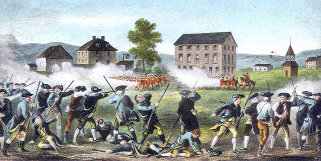 1775; BATTLES OF LEXINGTON AND CONCORD