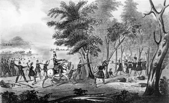 1813; battle of thames