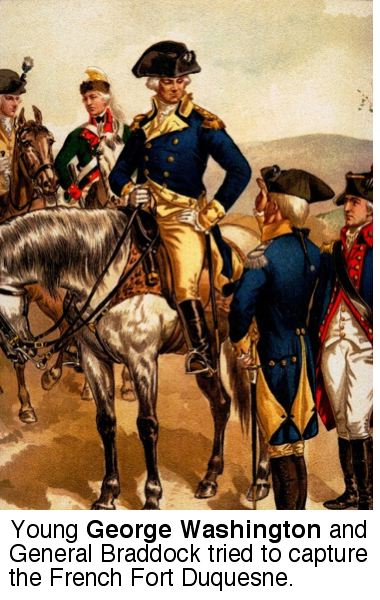 1752; WASHINGTON AND GENERAL BRADDOCK