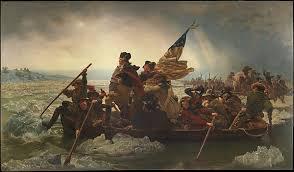 1776; WASHINGTON CROSSES THE DELAWARE