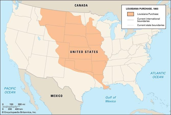 1803 Louisiana Purchase