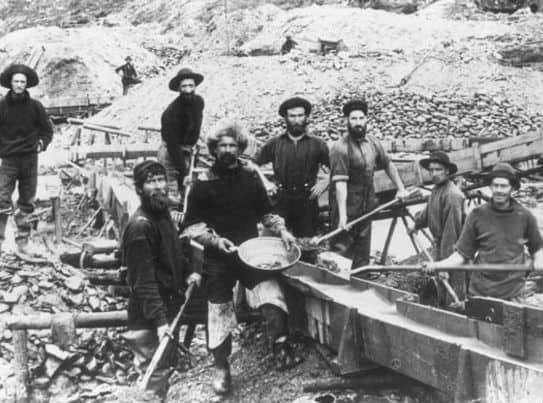 1848; CA gold rush