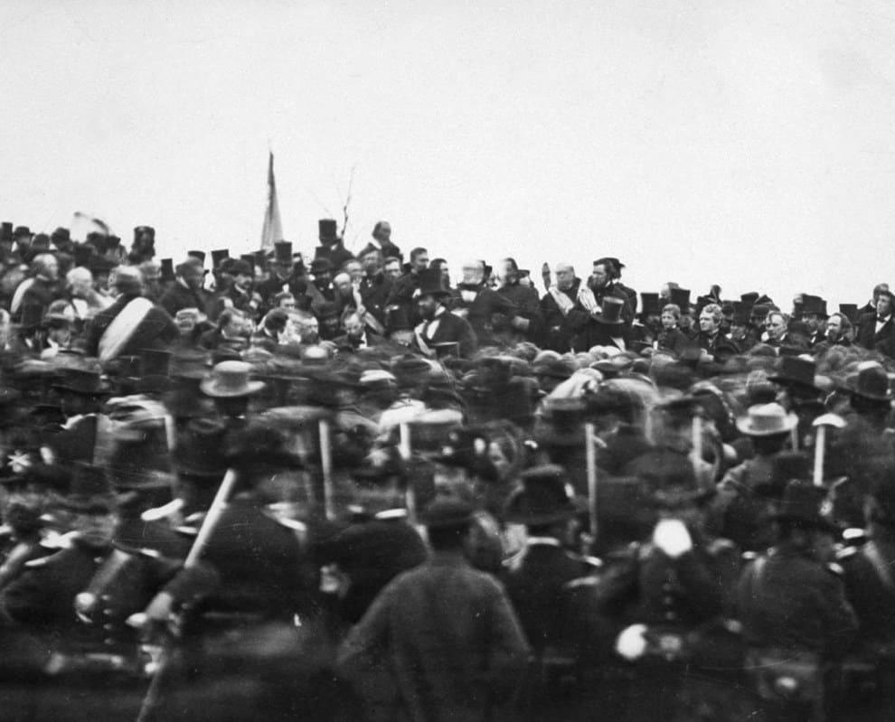 1863; gettysburg address