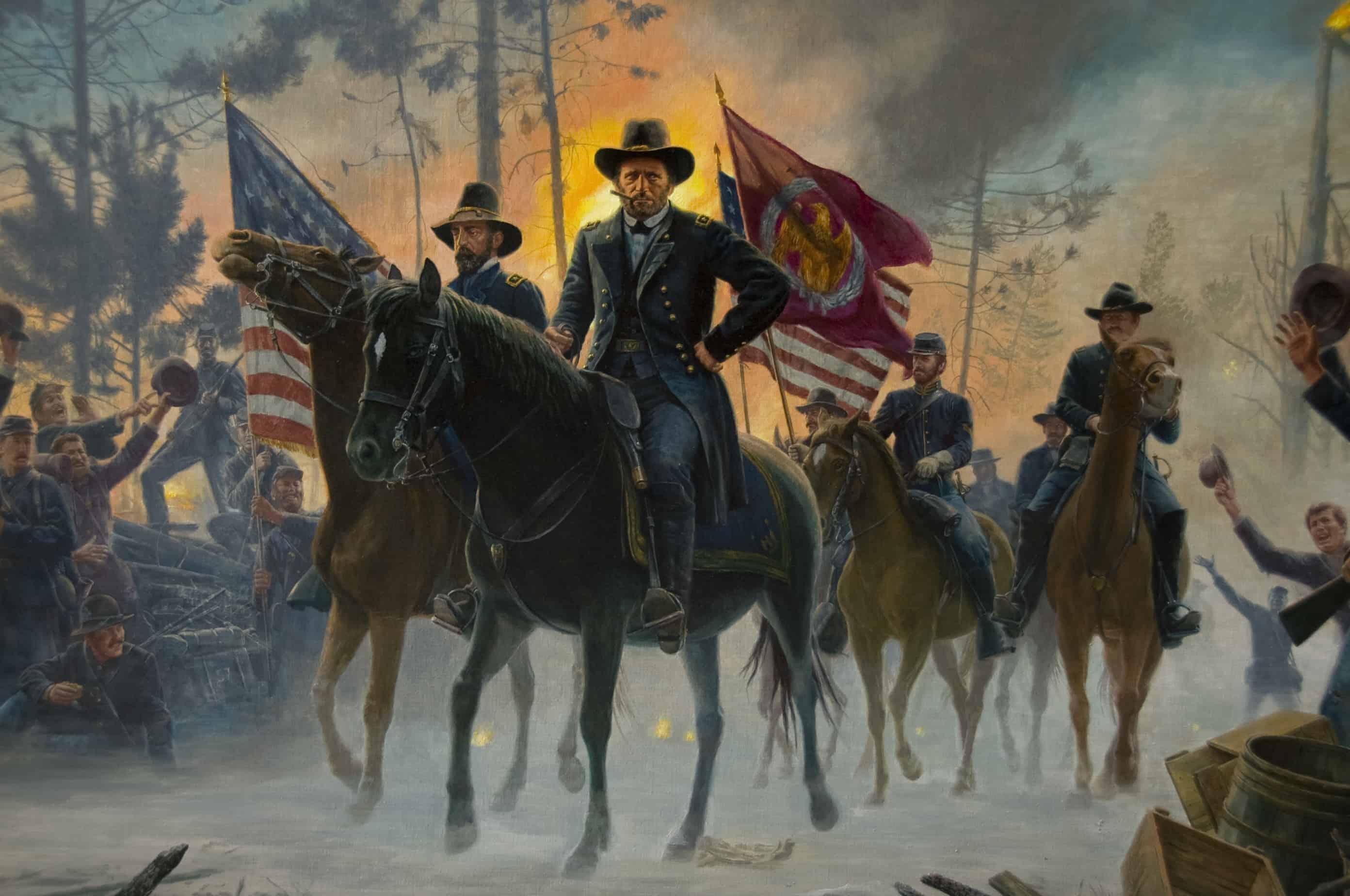 1864; grant invasion