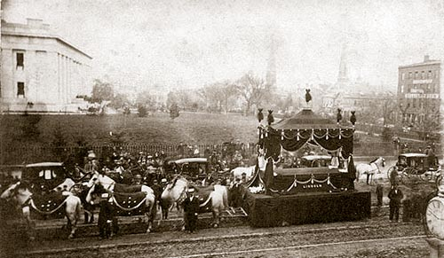 1865; lincoln-funeral