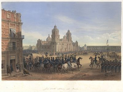 1846; Battle for mexico city