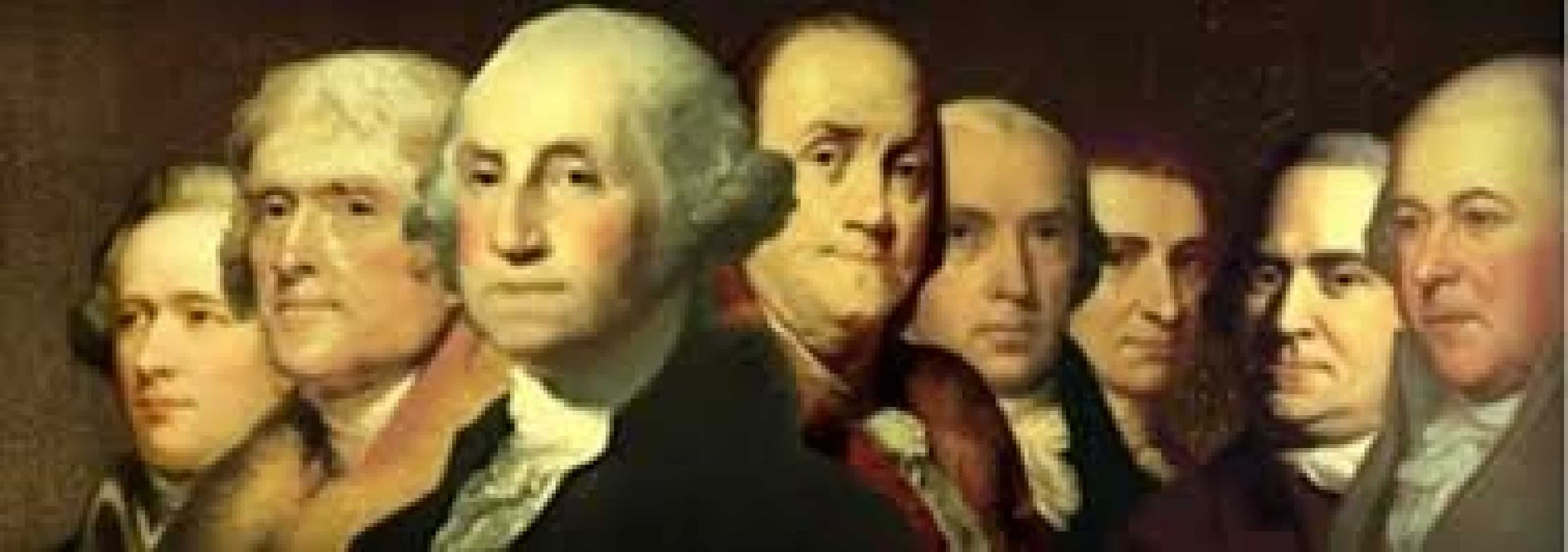 U.S. PRES HISTORY- FOUNDING FATHERS